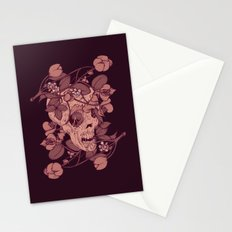 Rotting flowers Stationery Cards