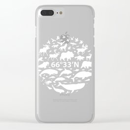 Sixty Six Degrees North Clear iPhone Case