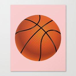 Basketball Ball Canvas Print