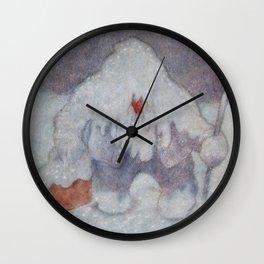 """Snow Troll"" by Theodor Kittelsen Wall Clock"