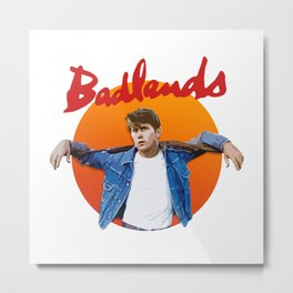Badlands - Martin Sheen Metal Print