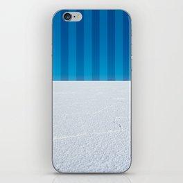 Striped Skies on the Salt Flats, Bolivia iPhone Skin