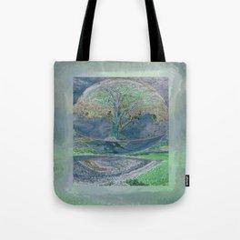 Misty Morning Meditation Tote Bag