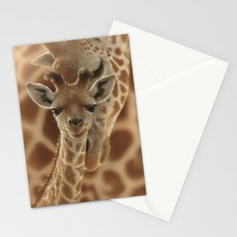 Giraffe Baby - New Born Stationery Cards