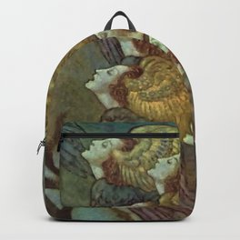 """""""The Bells"""" Fairy Tale Art by Edmund Dulac Backpack"""