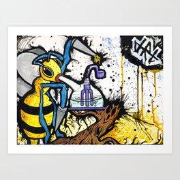 The Hive // DRT ARTS Art Print
