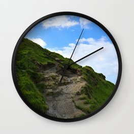 Irish Path to the Sky Wall Clock