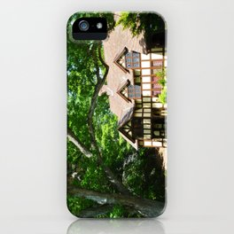 Haus with Tree iPhone Case