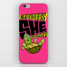 Nevertheless She Persisted iPhone & iPod Skin