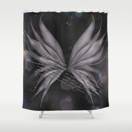 Of Dark Fairytales and Fairy Wings Shower Curtain