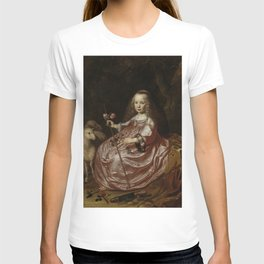 Dirck van Santvoort- Portrait of Clara Alewijn T-shirt
