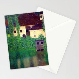 Gustav Klimt Unterach Manor Stationery Cards