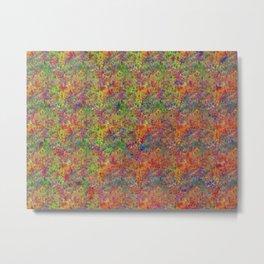 Splatterbow Metal Print