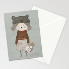 lucy bear Stationery Cards