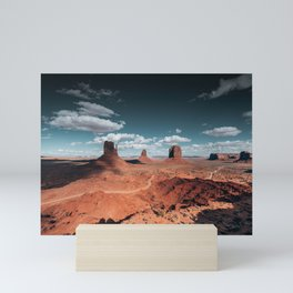 monument valley landscape Mini Art Print