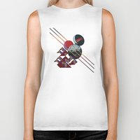 2001 a space odyssey Biker Tanks featuring 2001 a space odyssey by lina