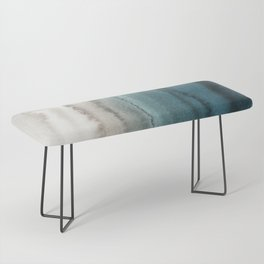 WITHIN THE TIDES - CRASHING WAVES TEAL Bench
