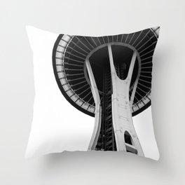 Variation on a Needle Throw Pillow