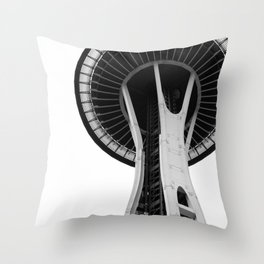 Variation on a Needle Throw Pillow