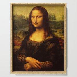 Leonardo Da Vinci Mona Lisa Painting Serving Tray