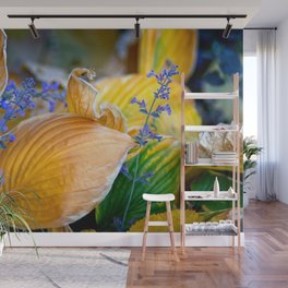 Autumn Grasses Wall Mural