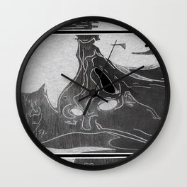 In Memory of the Anarchist (Inverted) Wall Clock