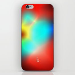 Color Heat iPhone Skin