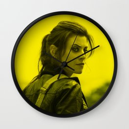 Meghan Ory - Celebrity (Photographic Art) Wall Clock