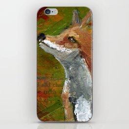 Wisdom of the Fox iPhone Skin