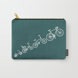 Ascent of a Cyclist Carry-All Pouch