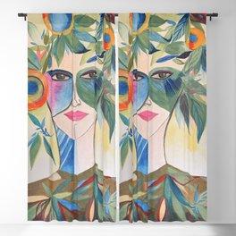 Lady Leaf  Blackout Curtain