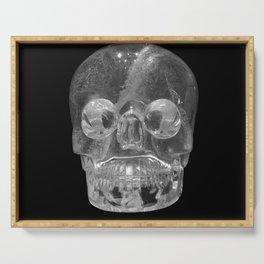Crystal Skulls | Crystal Skull Museum Serving Tray