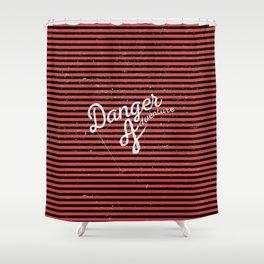 Danger Adventure Shower Curtain