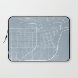 Billings Map, USA - Slate Laptop Sleeve