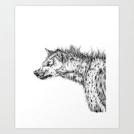 Anika, the Devil's Pet. Art Print