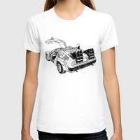 delorean T-shirts featuring delorean by marzini