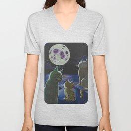 Moon Hope Unisex V-Neck