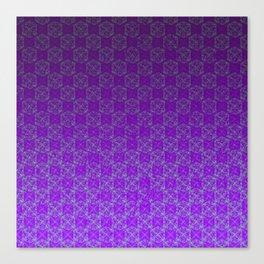 D20 Heathen Crit Pattern Premium Canvas Print