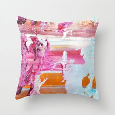 color splash #5 Throw Pillow