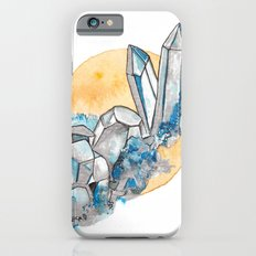 Blue Metallic Crystals Slim Case iPhone 6s