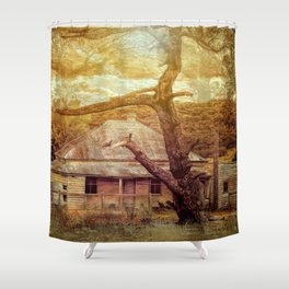 Home Among The Gums Shower Curtain