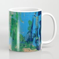 miami Mugs featuring Miami by Mande Gaffney