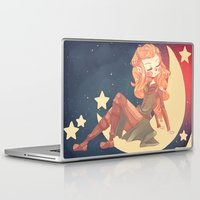 hobbit Laptop & iPad Skins featuring The Hobbit - Tauriel  by SweetOwls