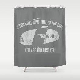 tank Shower Curtain