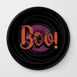 Boo! It´s Halloween Wall Clock
