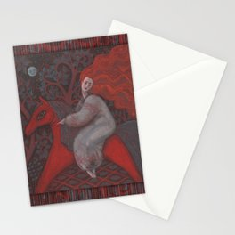 Red Horse Stationery Cards