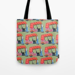 Rickshaw Fever Tote Bag