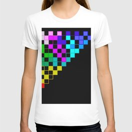 squares in a triangle T-shirt