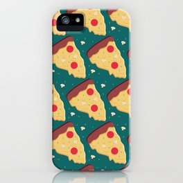 More Pepperoni Pizza, please! iPhone Case