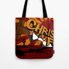 Christ Fu - Love Thy Unconscious Enemy Tote Bag